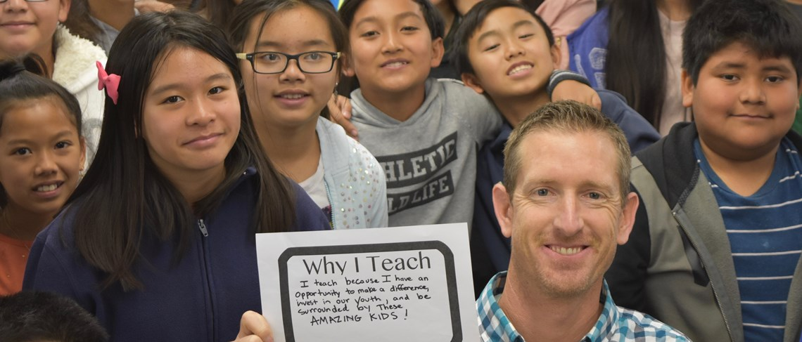 "The ""Why I Teach"" campaign gives teachers the opportunity to express their love for their profession."