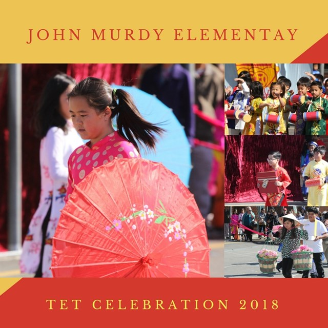 The Murdy Elementary Tet Celebration of 2018 brought students and families together.