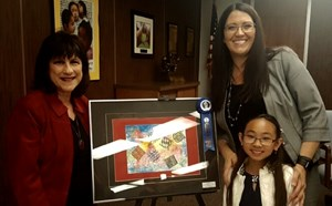 4th Grade Murdy Student Wins Mayor's Award for Art - article thumnail image
